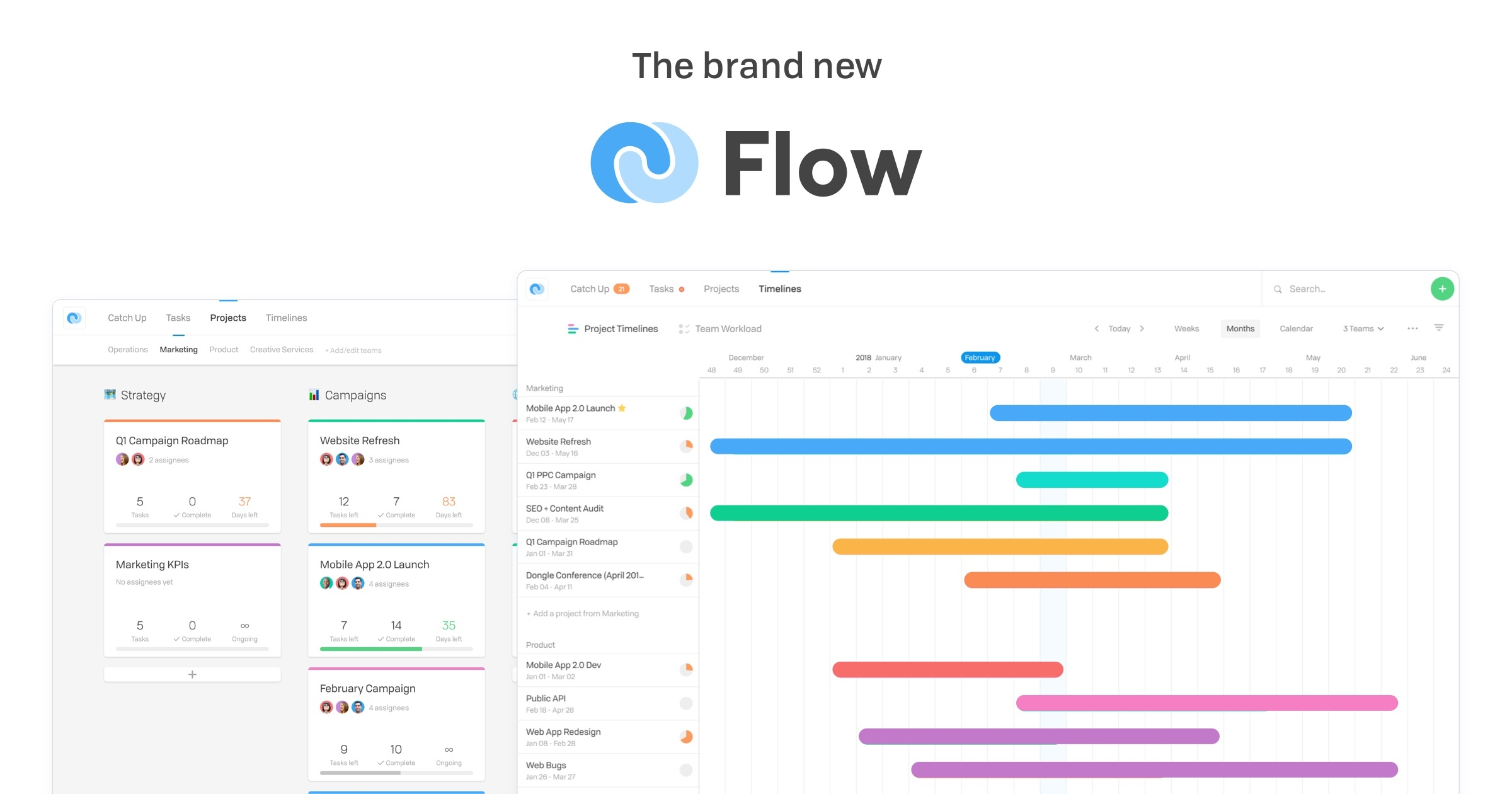 Project Task Management Software For Teams Flow