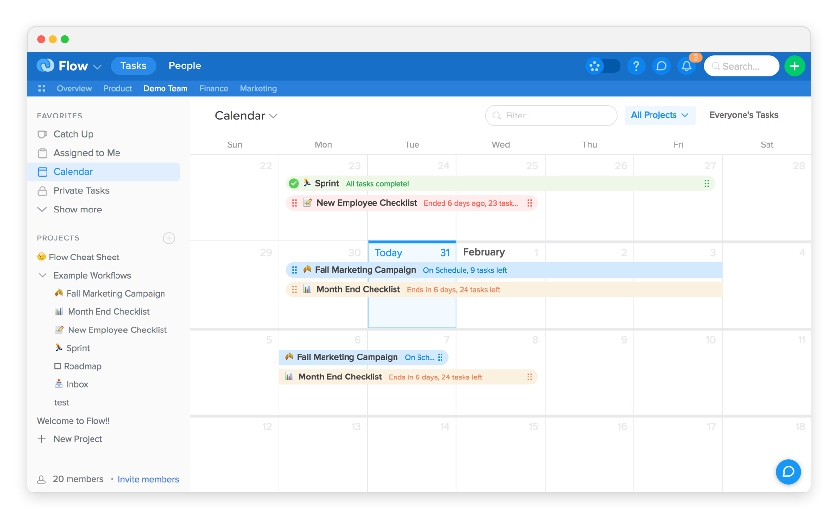 introducing project planning flow